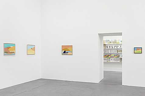 Etel Adnan - La joie de vivre, Exhibition view Museum Haus Konstruktiv, 2015, Photo: Stefan Altenburger